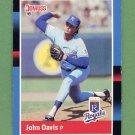 1988 Donruss Baseball #594 John Davis - Kansas City Royals