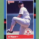 1988 Donruss Baseball #523 Al Nipper - Boston Red Sox