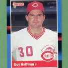 1988 Donruss Baseball #452 Guy Hoffman - Cincinnati Reds