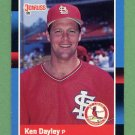 1988 Donruss Baseball #357 Ken Dayley - St. Louis Cardinals