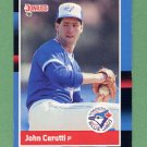 1988 Donruss Baseball #321 John Cerutti - Toronto Blue Jays