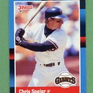 1988 Donruss Baseball #239 Chris Speier - San Francisco Giants