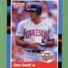1988 Donruss Baseball #194 Gary Gaetti - Minnesota Twins