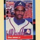 1988 Donruss Baseball #190 Dion James - Atlanta Braves ExMt