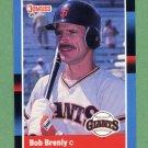 1988 Donruss Baseball #189 Bob Brenly - San Francisco Giants