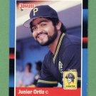 1988 Donruss Baseball #168 Junior Ortiz - Pittsburgh Pirates