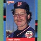 1988 Donruss Baseball #149 Frank Viola - Minnesota Twins
