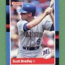 1988 Donruss Baseball #147 Scott Bradley - Seattle Mariners