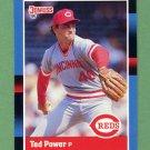 1988 Donruss Baseball #142 Ted Power - Cincinnati Reds