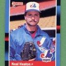 1988 Donruss Baseball #134 Neal Heaton - Montreal Expos
