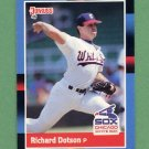 1988 Donruss Baseball #124 Richard Dotson - Chicago White Sox