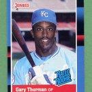 1988 Donruss Baseball #044 Gary Thurman RR - Kansas City Royals Ex