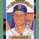 1988 Donruss Baseball #020 Mark Langston DK - Seattle Mariners