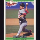 1992 Donruss Rookies Baseball #094 Mike Perez - St. Louis Cardinals