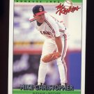 1992 Donruss Rookies Baseball #023 Mike Christopher - Cleveland Indians