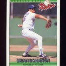 1992 Donruss Rookies Baseball #011 Brian Bohanon - Texas Rangers