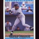 1992 Donruss Baseball #697 Gerald Williams - New York Yankees