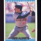 1992 Donruss Baseball #621 Mike Aldrete - Cleveland Indians