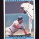 1992 Donruss Baseball #609 Carlos Quintana - Boston Red Sox