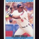 1992 Donruss Baseball #500 Albert Belle - Cleveland Indians