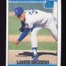 1992 Donruss Baseball #421 Lance Dickson RR - Chicago Cubs