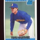 1992 Donruss Baseball #410 Tino Martinez RR - Seattle Mariners