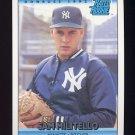 1992 Donruss Baseball #407 Sam Militello RR - New York Yankees