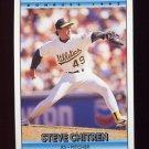 1992 Donruss Baseball #385 Steve Chitren - Oakland A's