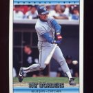 1992 Donruss Baseball #379 Pat Borders - Toronto Blue Jays