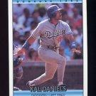 1992 Donruss Baseball #343 Kal Daniels - Los Angeles Dodgers