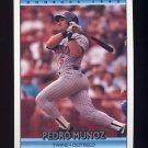 1992 Donruss Baseball #305 Pedro Munoz - Minnesota Twins