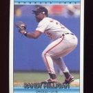 1992 Donruss Baseball #222 Randy Milligan - Baltimore Orioles