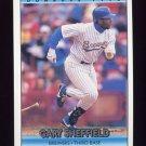 1992 Donruss Baseball #192 Gary Sheffield - Milwaukee Brewers