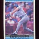 1992 Donruss Baseball #167 Brian Downing - Texas Rangers