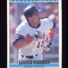1992 Donruss Baseball #166 Lance Parrish - California Angels