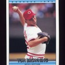 1992 Donruss Baseball #136 Tom Browning - Cincinnati Reds