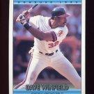 1992 Donruss Baseball #133 Dave Winfield - California Angels