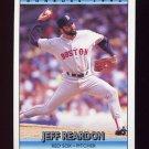 1992 Donruss Baseball #089 Jeff Reardon - Boston Red Sox