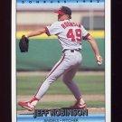 1992 Donruss Baseball #059 Jeff D. Robinson - California Angels