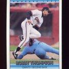 1992 Donruss Baseball #052 Robby Thompson - San Francisco Giants