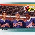1992 Fleer Baseball #700 Mark Wohlers / Kent Mercker / Alejandro Pena - Atlanta Braves
