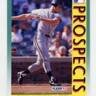 1992 Fleer Baseball #678 Ted Wood MLP - San Francisco Giants