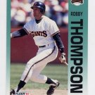 1992 Fleer Baseball #648 Robby Thompson - San Francisco Giants