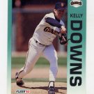 1992 Fleer Baseball #634 Kelly Downs - San Francisco Giants