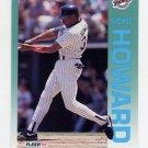 1992 Fleer Baseball #607 Thomas Howard - San Diego Padres