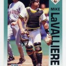 1992 Fleer Baseball #558 Mike LaValliere - Pittsburgh Pirates