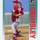 1992 Fleer Baseball #532 Jason Grimsley - Philadelphia Phillies