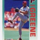 1992 Fleer Baseball #531 Tommy Greene - Philadelphia Phillies