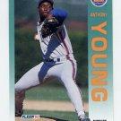 1992 Fleer Baseball #520 Anthony Young - New York Mets