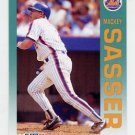 1992 Fleer Baseball #515 Mackey Sasser - New York Mets